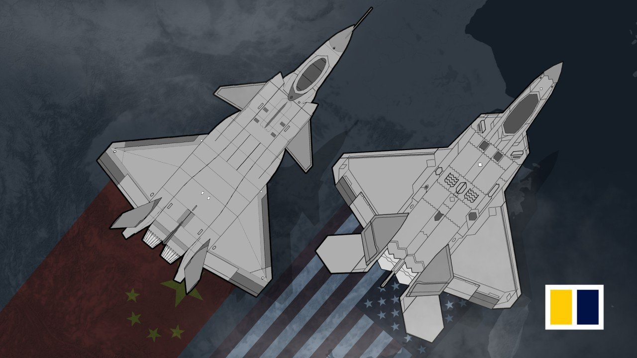 Powerful Dragon v Raptor: how China's J-20 stealth fighters compare with America's F-22s